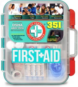 Be Smart Get Prepared First Aid Kit