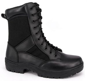 Wideway Black Military Boots